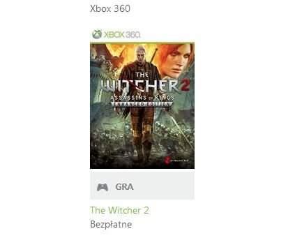 Wiedźmin 2 dla Xbox 360