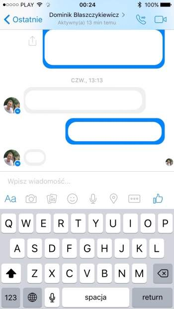 Messenger - aplikacja mobilna