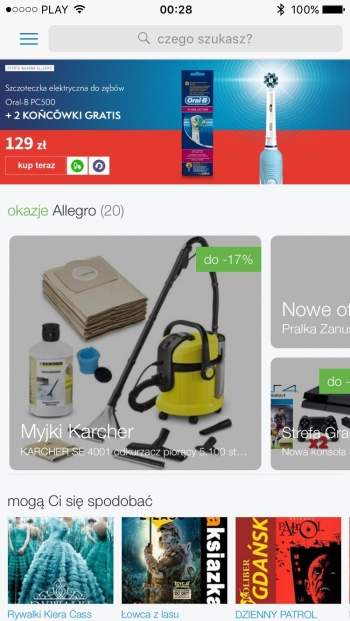 Allegro - aplikacja mobilna