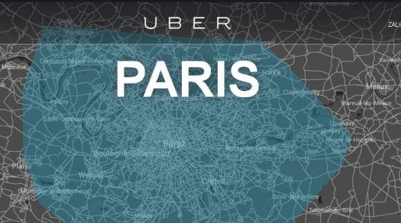 Paryska strona Uber