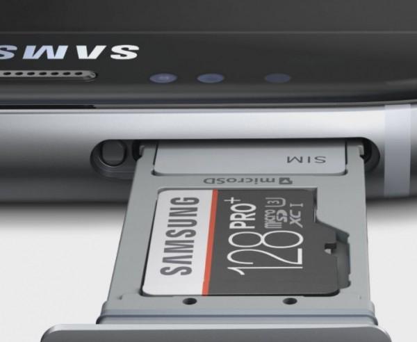 Samsung Galaxy S7 - hybrydowy slot microSD