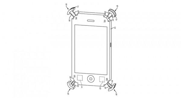 Apple iPhone z systemem wysuwanych narożników