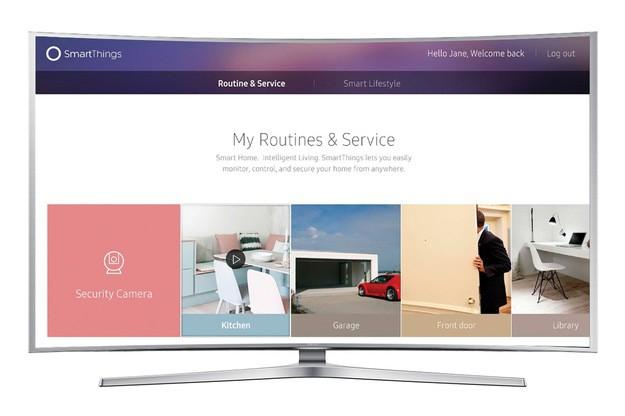 Telewizor 4K Samsunga z obsługą SmartTchings