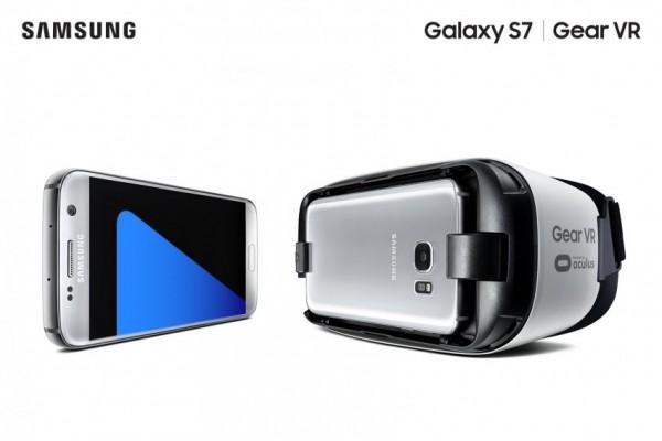 Samsung Galaxy S7 i gogle Gear VR