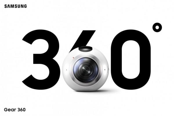 Kamerka Gear 360