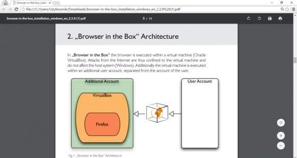 Wszystkie przeglądarki internetowe za wyjątkiem Internet Explorera są wyposażone w przeglądarkę dokumentów PDF.