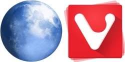 Choć te ikony są jeszcze mało znane, już niebawem mogą być rozpoznawane przez większość użytkowników. Pale Moon i Vivaldi chcą dokonać przewrotu na scenie przeglądarek internetowych.