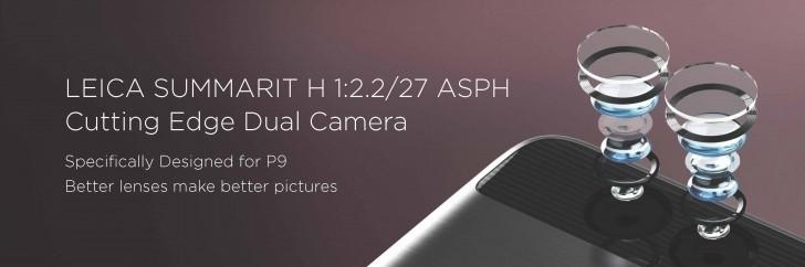 Huawei P9 z podwójnym aparatem korzystającym z obiektywów Leica