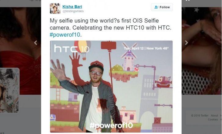 HTC 10 może zaoferować optyczną stabilizację obrazu dla przedniego aparatu
