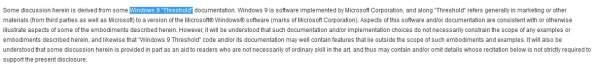 Windows 9 Threshold