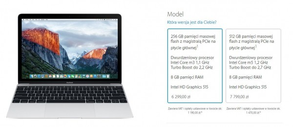 Nowy Apple MacBook