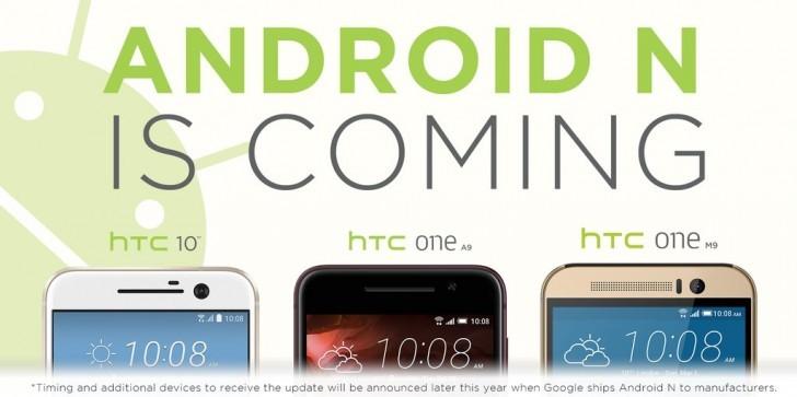 HTC 10, One M9 i One A9 otrzymają Androida N. Co z One M8?