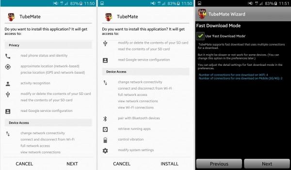 Aplikacja TubeMate pozwala na pobranie wideo z YouTube