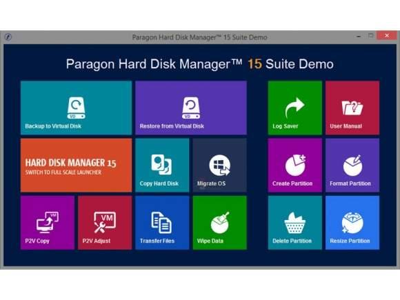 Paragon Hard Disk Manager Suite