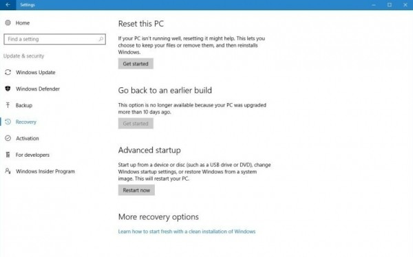 Windows 10: po aktualizacji masz 10 dni na powrót do Windows 7