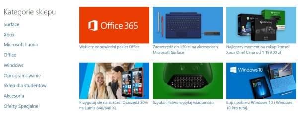 Polski sklep online Microsoftu