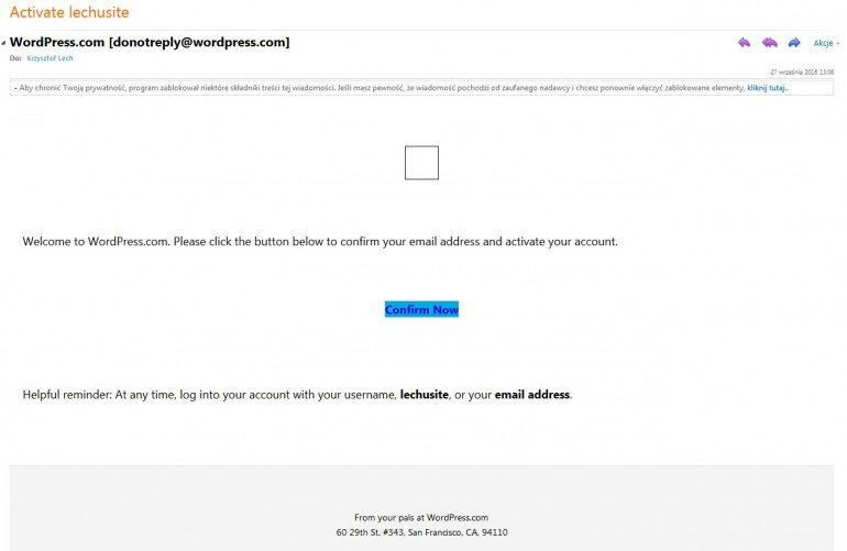 Jak założyć darmowego bloga - Wordpress