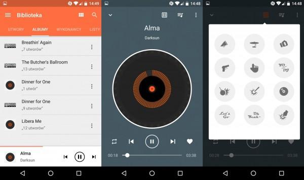 Alcatel Idol 4 - odtwarzacz muzyczny z opcją miksowania utworów