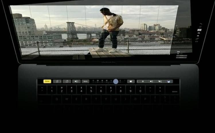 Nowy MacBook Pro z panelem OLED TouchBar oraz TouchID. Czy warto?