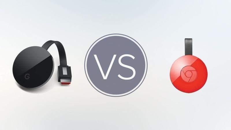 Czy lepiej zdecydować się na Chromecast Ultra czy zostać lub nabyć Chromecasta 2? Wybór będzie dość trudny, bo trzeba będzie zdecydować się na wyższą jakość lub niższą cenę urządzenia.