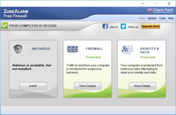 ZoneAlarm pozwala nieco bardziej dostosować ustawienia firewalla do swoich potrzeb niż standardowa zapora systemu Windows.