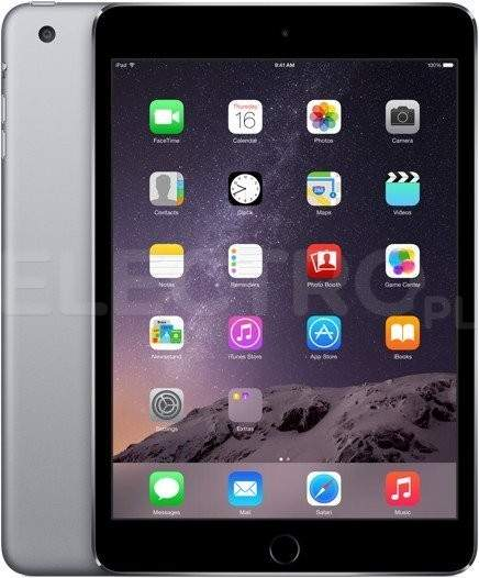 APPLE iPad Mini 3 MGP32FD/A Gwiezdna szarość