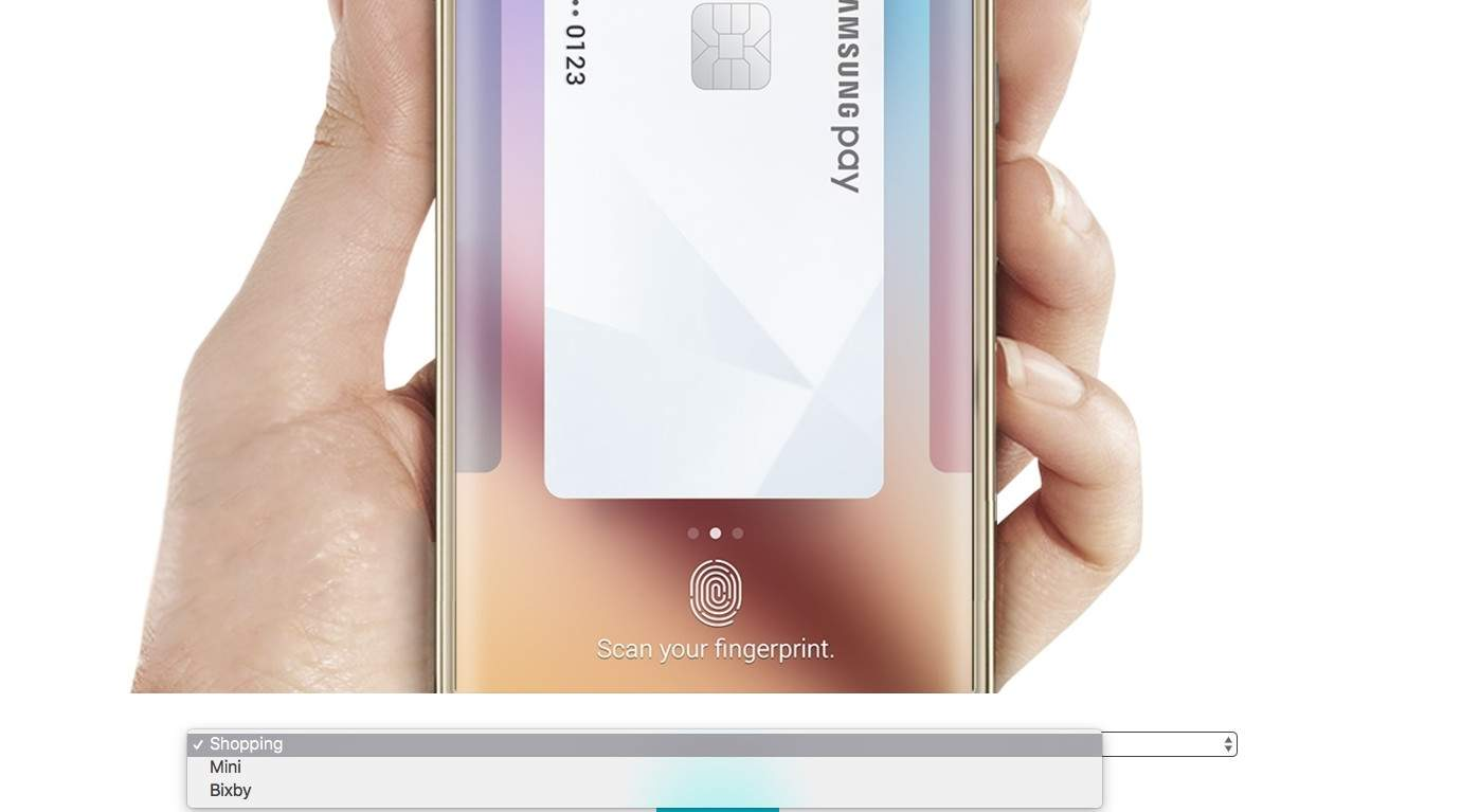 Samsung Bixby i Pay Mini