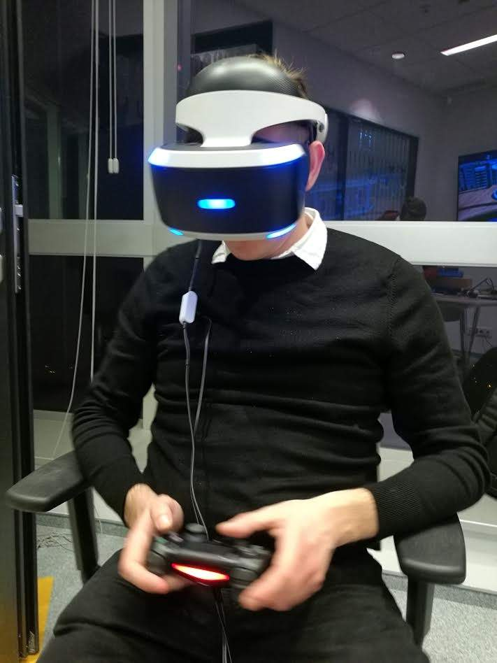 PlayStation VR w redakcji PCWorld.pl