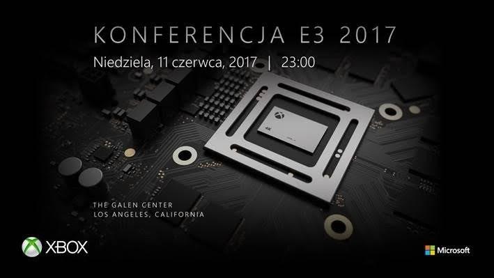 Zaproszenie na konferencję, na której poznamy szczegóły o Xbox Scorpio
