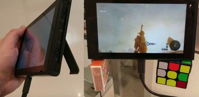 Nintendo Switch - problem z kablem USB