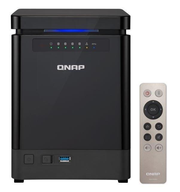 QNAP prezentuje elegancki NAS z wyjściem 4K