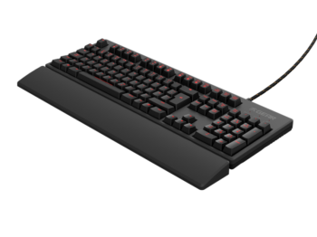Test klawiatury dla graczy Fnatic Rush G1 Silent