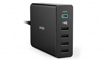 Test ładowarki do telefonu Anker PowerPort+ 5 USB-C