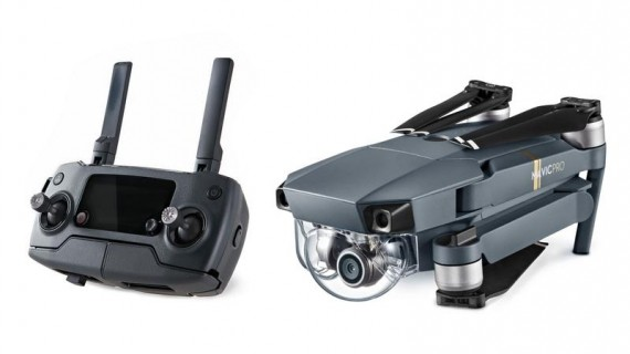 Test drona DJI Mavic Pro