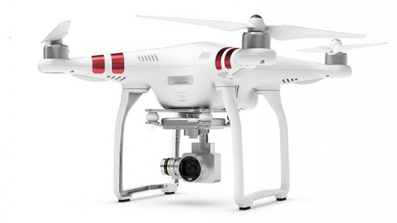 Test drona DJI Phantom 3 Standard