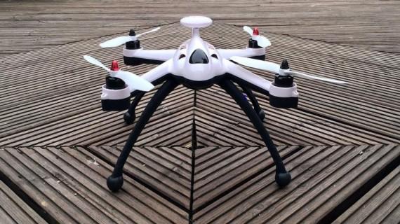 Test drona Flying 3D X8