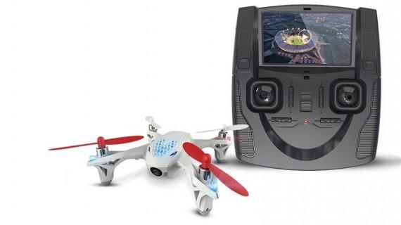 Test drona Hubsan X4 FPV