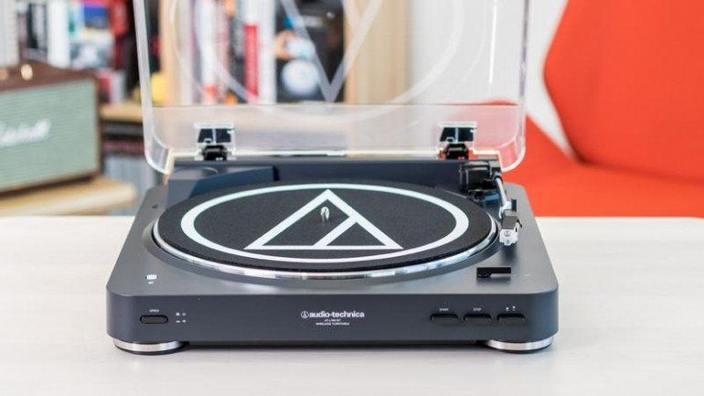 Test gramofonu Audio-Technica AT-LP60BT