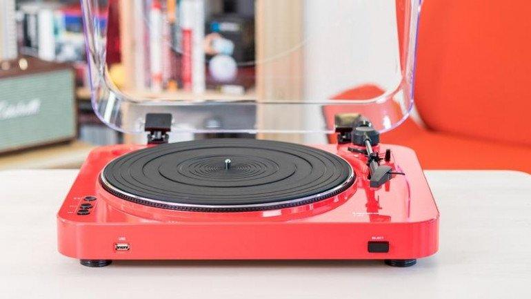 Test gramofonu Lenco L-85