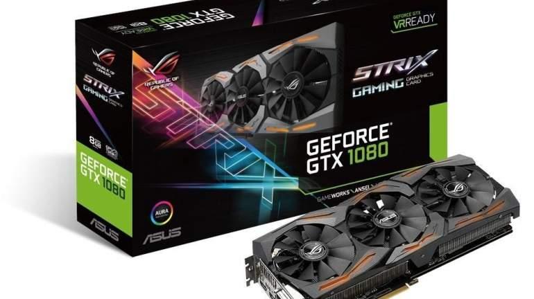 Asus GeForce GTX 1080 ROG STRIX OC 8GB