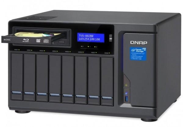 QNAP prezentuje TVS-882BR Blu-ray NAS. Współpraca z Fengtao Software (DVDFab)