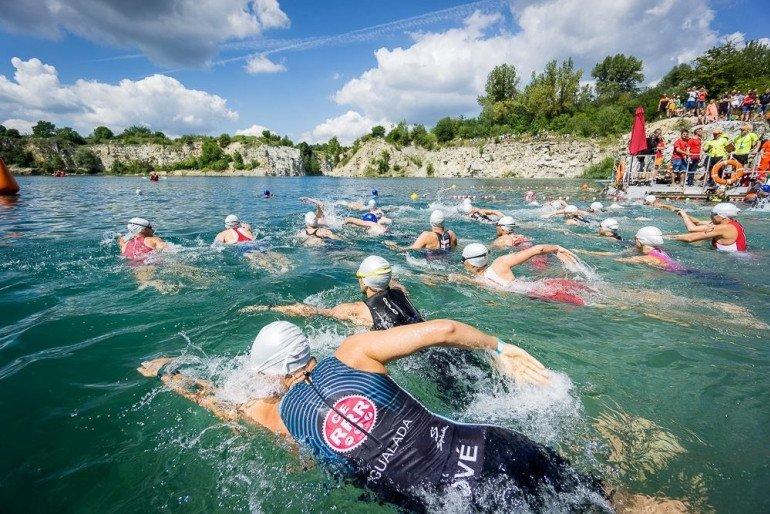 Etap pływacki. Autor: Marek Arcimowicz