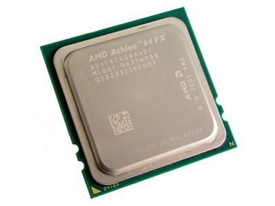 Athlon 64 FX-74 wykonany jest tak samo jak Opteron. Wyeliminowanie nóżek pozwala zmniejszyć interferencje sygnałów.