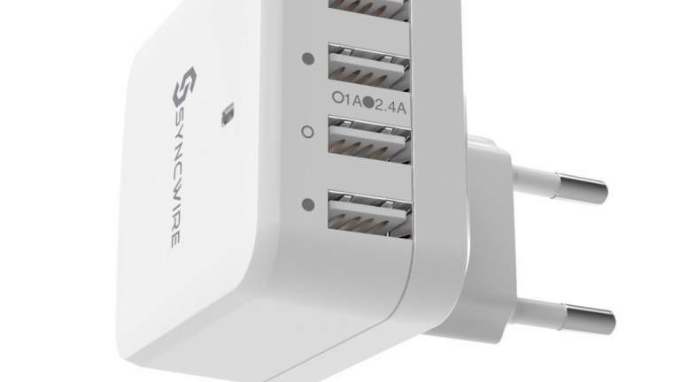 SyncWire 4-Port Quick Charger