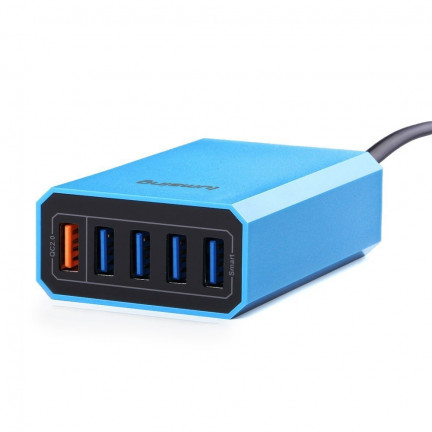 Lumsing QC 2.0 40W 5-Port USB Desktop Charger