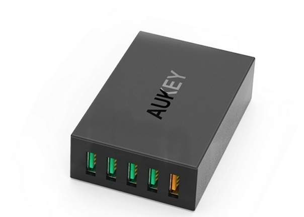 Aukey 5 Ports USB Charging Station