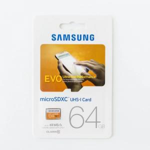 Test karty microSD Samsung Evo microSD
