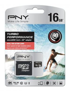 Test karty microSD PNY Turbo Performance microSD card