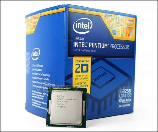 Intel Pentium G3258 Anniversary Edition
