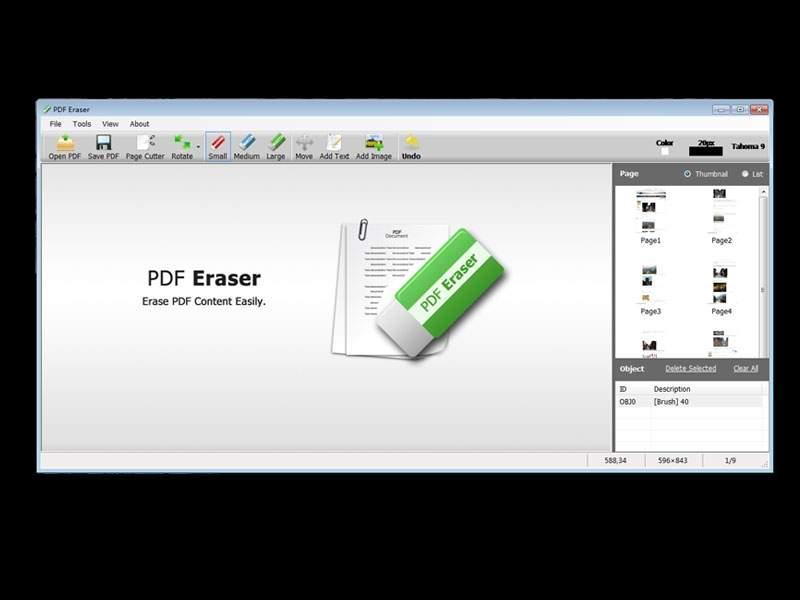 PDF Eraser